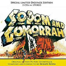 Sodom & Gomorrah - 2 x CD Complete Score - Limited Edition - Miklos Rozsa