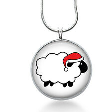 Christmas Sheep Pendant Necklace, Sheep Pendant, Animal, fashion jewelry, gifts