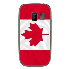 Coque souple pour Nokia Asha 302 avec impression Motifs drapeau du Canada