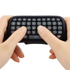 Wireless Controller Messenger Game Keyboard Keypad ChatPad For XBOX 360 Black AO