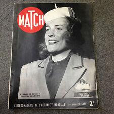 revue magazine Match du 20 juillet 1939 premisse guerre 1939 1945 WWII