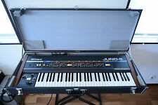 Roland Juno-6 Juno6 Vintage Analog Synthesizer w/ Original Case