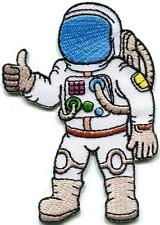 Astronaut cosmonaut spaceman retro embroidered applique iron-on patch new S-1316