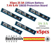 5pcs 2S 3A Li-ion Lithium Battery 7.4v 8.4V 18650 Charger Protection Board