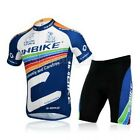 New Cycling Bike Short Sleeve Sports Clothing Bicycle Ciclismo Jersey + Shorts