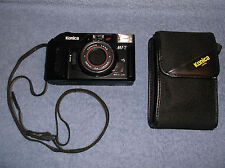 VINTAGE KONICA MT-7 35MM CAMERA W/ 36MM LENS F4 CARRYING STRAP & CASE 1986 JAPN