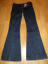 MISS SIXTY HARRIET DARK BLUE DENIM JEANS PANTS WOMEN'S 30 INSEAM 33