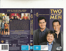 Two And A Half Men-2003/13-TV Series USA-[Complete Fourth Season 4 Disc Set]-DVD