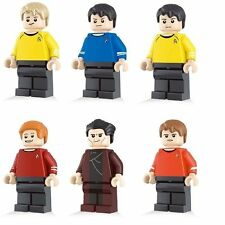 Star Trek Original TV Show Minifigure 6 figure set Kirk Spock Scotty movie Bones