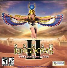 Seven Kingdoms II The Fryhtan Wars - Classic Vintage Empire Strategy PC Game NEW