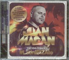 JUAN MAGAN THE KING IS BACK #LATINIBIZATE SEALED CD NEW 2015