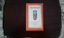 Beowolf - translation by David Wright