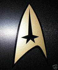 Star Trek Command Insignia TOS cut vinyl bumper sticker decal