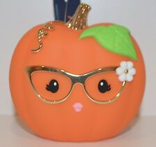 NEW BATH & BODY WORKS PUMPKIN POCKETBAC HOLDER SLEEVE SANITIZER CASE DESK TABLE