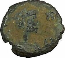 Leo I  with cross 457AD  Authentic Ancient Roman Coin  i39679