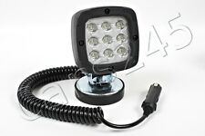 LED 15W Waterproof Spot Beam Work Light Flood Lamp Vehicle Jeep 12V Magnetic Pad