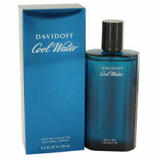 DAVIDOFF COOL WATER 4.2 oz MENS EDT; BRAND NEW***BUY WITH CONFIDENCE