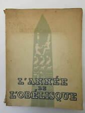 Docteur LUCIEN-GRAUX  L'Année de L'Obélisque (1836)     1936