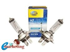2x Hella H7 24V 70W Bulb-PX26D For Replacement Volvo Headlight/Trucks/Buses