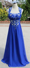 MASQUERADE Blue Evening Prom Formal Gown 9 - $190 NWT