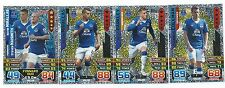 2015 / 2016 EPL Match Attax EVERTON Inserts Man of the Match x 3 Duo x 1