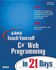 Sams Teach Yourself C# Web Programming in 21 Days,ACCEPTABLE Book