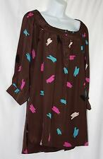 NWT URBAN OUTFITTERS Lux 100% SILK Dress Size Large