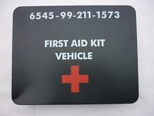 NEW British Military Army Vehicle First Aid Kit Tin NSN 6545-99-211-1573