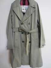 NWT BURBERRY Wakefield mens trench coat + ALPACA warmer SIZE S original $1595