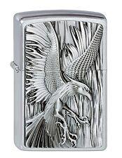 ZIPPO Benzin Feuerzeug Phoenix on fire Emblem NEU