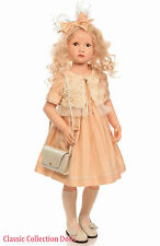 """BETTINA"" -SPECIAL PRICING-EXQUISITE COLLECTORS DOLL BY HILDEGARD GUNZEL-NEW"
