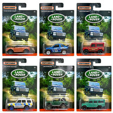 Matchbox - Diecast 6 car set - Individual cards Land Rover Range