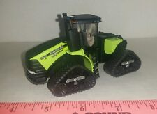 1/64 ERTL custom green 620 case ih steiger track quadtrac 4wd tractor farm toy