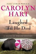 Laughed 'Til He Died: A Death on Demand Mystery-ExLibrary