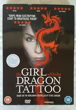 The Girl with the Dragon Tattoo  DVD Noomi Rapace, Michael Nyqvist