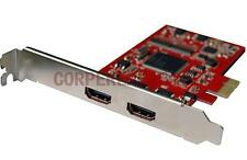 Desktop PC HDMI Output& HDMI Input HD Video Capture Card grabber Converter PCI-E