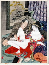 """SHUNGA"" XXX""#3 A   REPRINT OF EROTIC  PAINTING MEIJI PERIOD +"