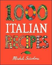 1,000 Italian Recipes (1,000 Recipes), Michele Scicolone, Very Good Book