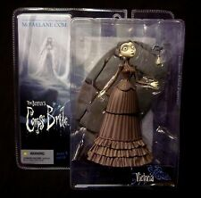McFarlane Series 1 Corpse Bride Tim Burton Victoria Action Figure Johnny Depp .