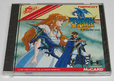 Dragon Spirit PC Engine HuCard Duo-RX GT LT Namcot * Brand NEW Sealed *