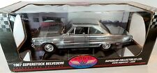 1/18 Highway 61 1967 Superstock Belvedere CHROME CHASE ertl supercar dcp hwy 67