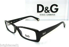 Authentic D&G Dolce&Gabbana Black Eyeglass Frame Rx DD 1193 - 501 *NEW*  50mm