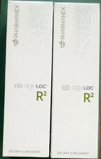 Nu Skin Pharmanex ageLOC R2 x 2,  Day and Night, 2 Month Supply, Exp  08/18