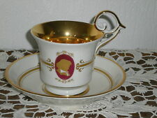 TASSE A THE EN PORCELAINE PIRKENHAMMER STYLE EMPIRE N°2