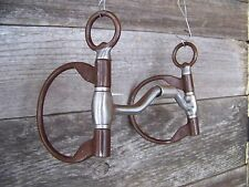Bit - The Clinician Ported Hinged D-Ring Snaffle