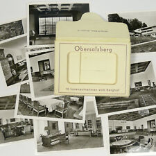 10 Original German B&W Berghof Obersalzberg Photos Hitler's House Germany b WWII