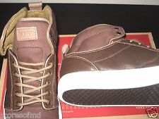 Vans OTW Mens Alomar Herringbone Brown Star White Hi-Top Skate shoes Size 11 NWT