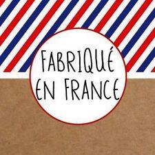 """40 étiquettes autocollantes """"FABRIQUE EN FRANCE""""."""