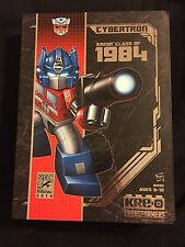 KRE O SDCC 2014 TRANSFORMERS CLASS OF 1984 SET BRAND NEW RARE ULTRA MAGNUS KREO