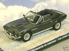 1/43 JAMES BOND 007 ASTON MARTIN V8 VANTAGE OPEN TOP FROM THE LIVING DAYLIGHTS